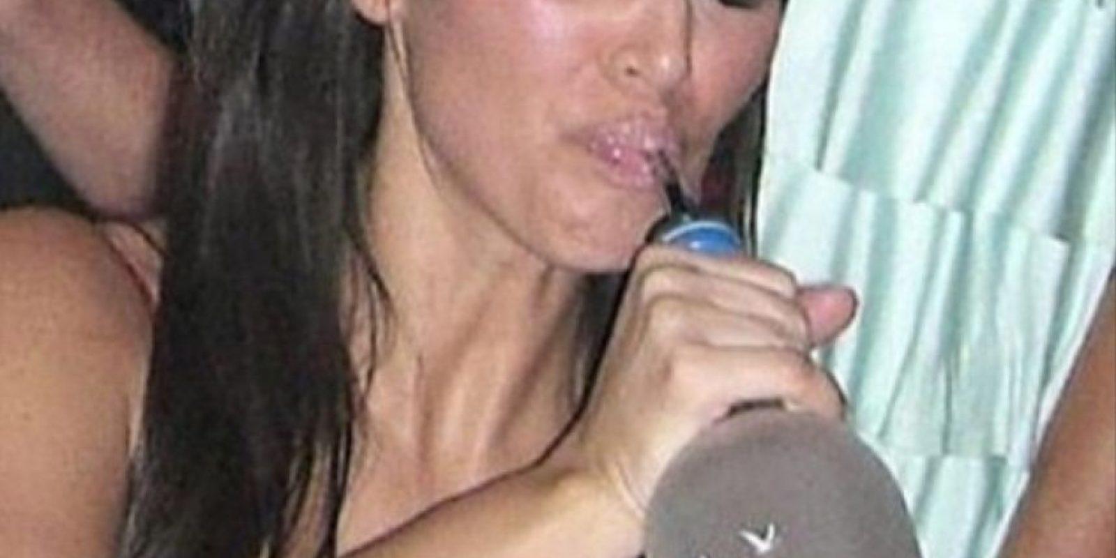 """4.- También publicó esta vergonzosa imagen de la estrella del reality """"Keeping Up with the Kardashians"""" Foto:Instagram @mileycyrus"""