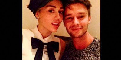 Miley y Patrick Foto:Instagram @mileycyrus
