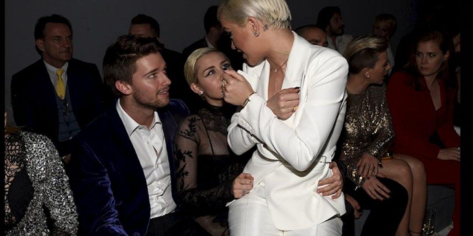 Miley y Patrick Foto:Getty Images