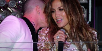 Casper Smart y Jennifer Lopez Foto: Getty Images