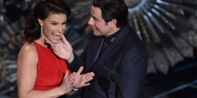 """En este año, Idina se vengó del actor y lo presentó como """"Glam Gazingo"""" Foto:Getty Images"""