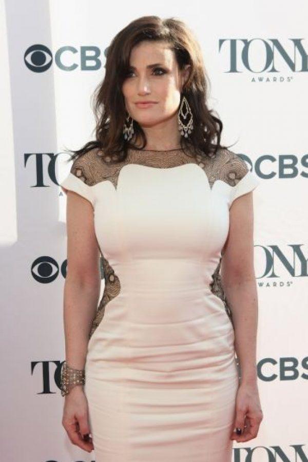 Idina es una cantante y actriz de Broadway Foto:Getty Images