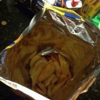 Abres la bolsa y tiene más aire que papalinas. Foto:BuzzFeed