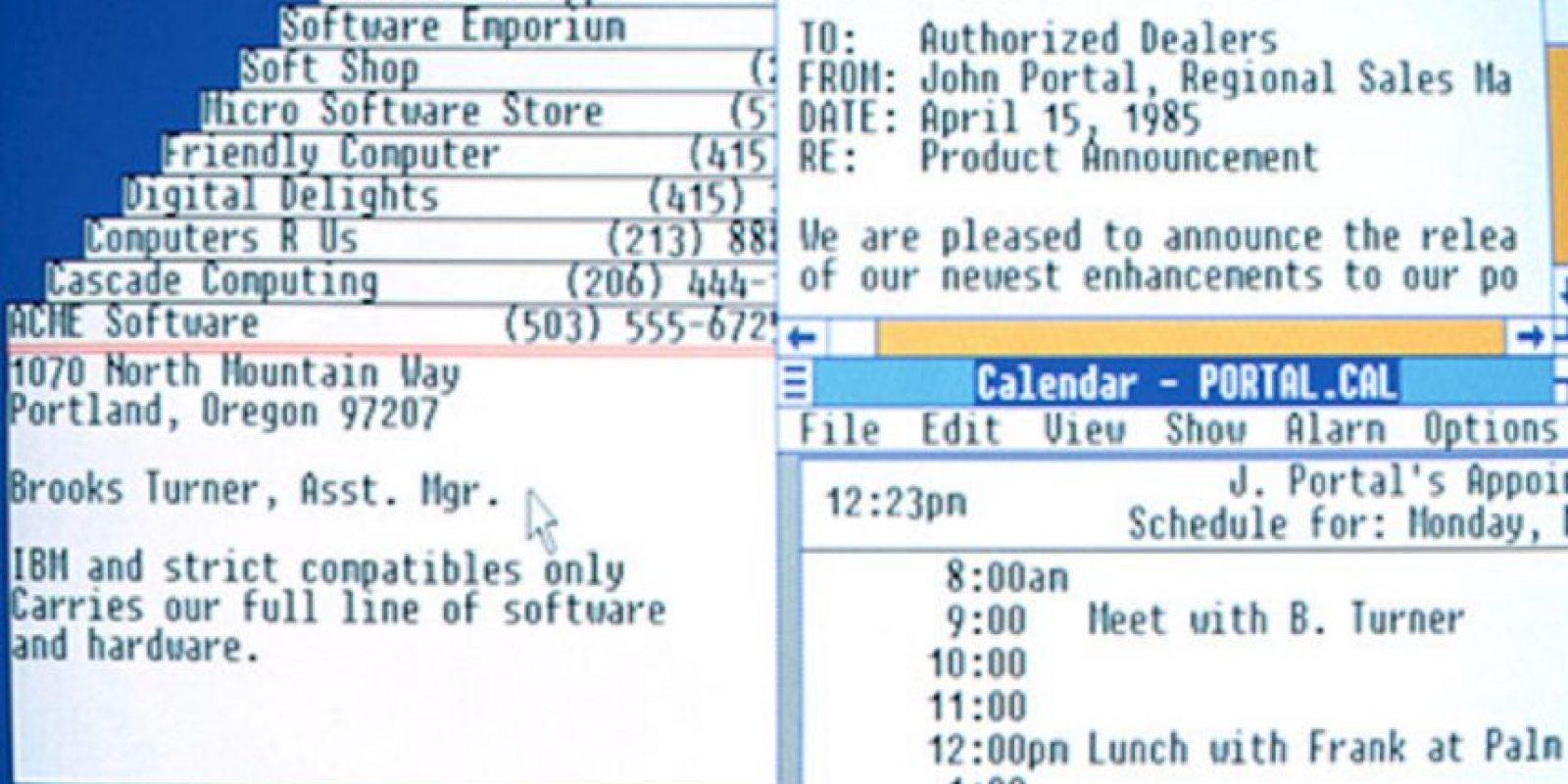 Así lucía el diseño de este inicial proyecto de Microsoft. Foto:Vía windows.microsoft.com