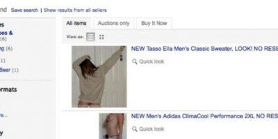 Vender su ropa. Foto:Reddit