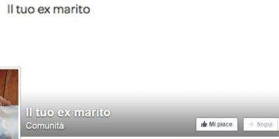 """También creó una comunidad llamada """"Il Tuo Exmarito"""", donde está su carta viral. Foto:Il Tuo Exmarito"""
