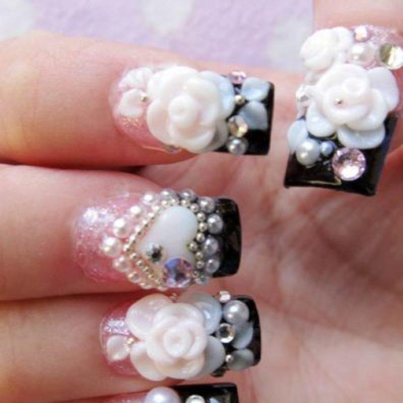 Sobre todo en las uñas acrílicas, que para la temporada de otoño/invierno. Foto:Pinterest
