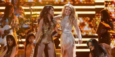 Thalia comparte escenario con Becky G Foto:Getty