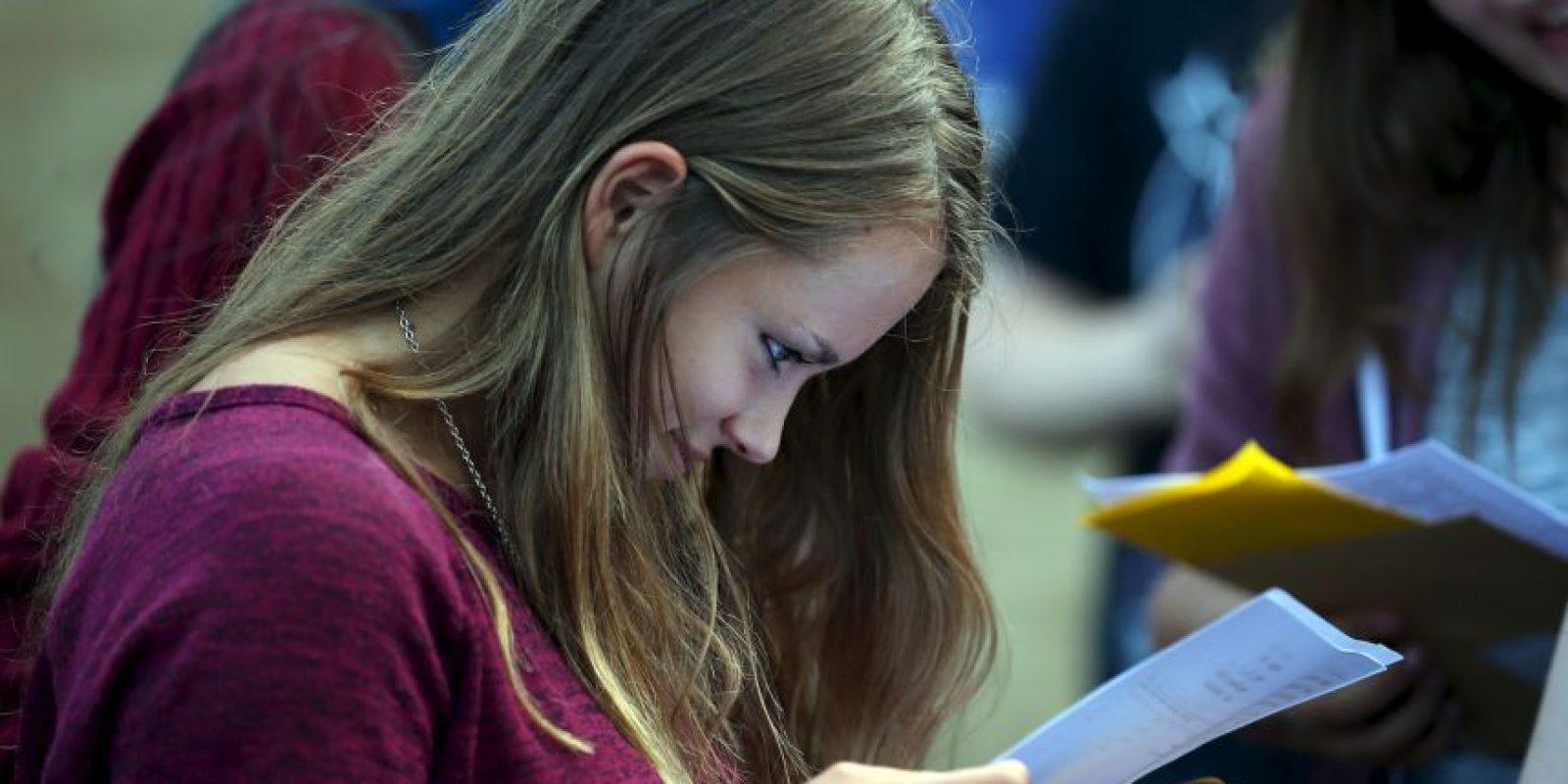 Deben dormir bien y descansar lo suficiente antes del examen Foto:Getty Images