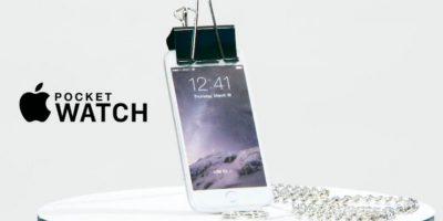 La parodia del reloj inteligente de Apple. Foto:CONAN / TBS