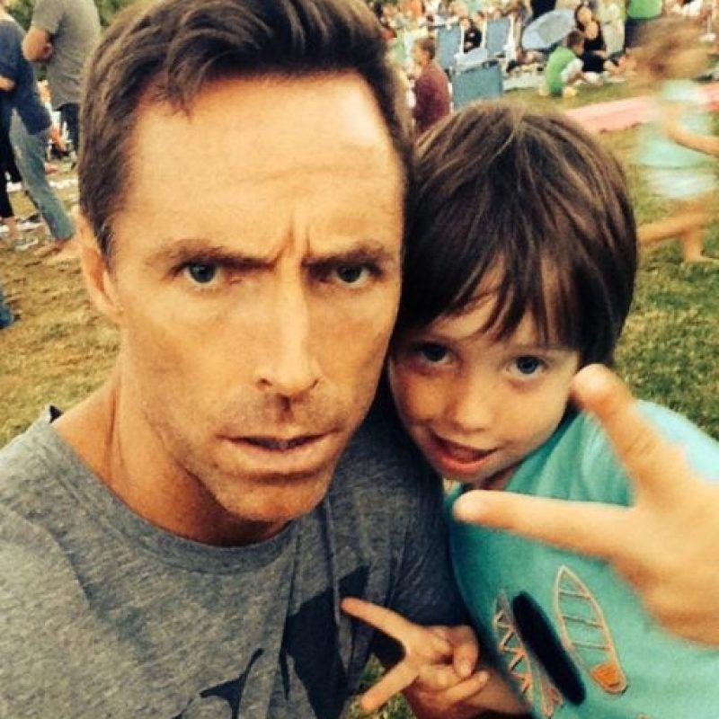 Uno de los tres hijos que tiene. Foto:instagram.com/stephennash