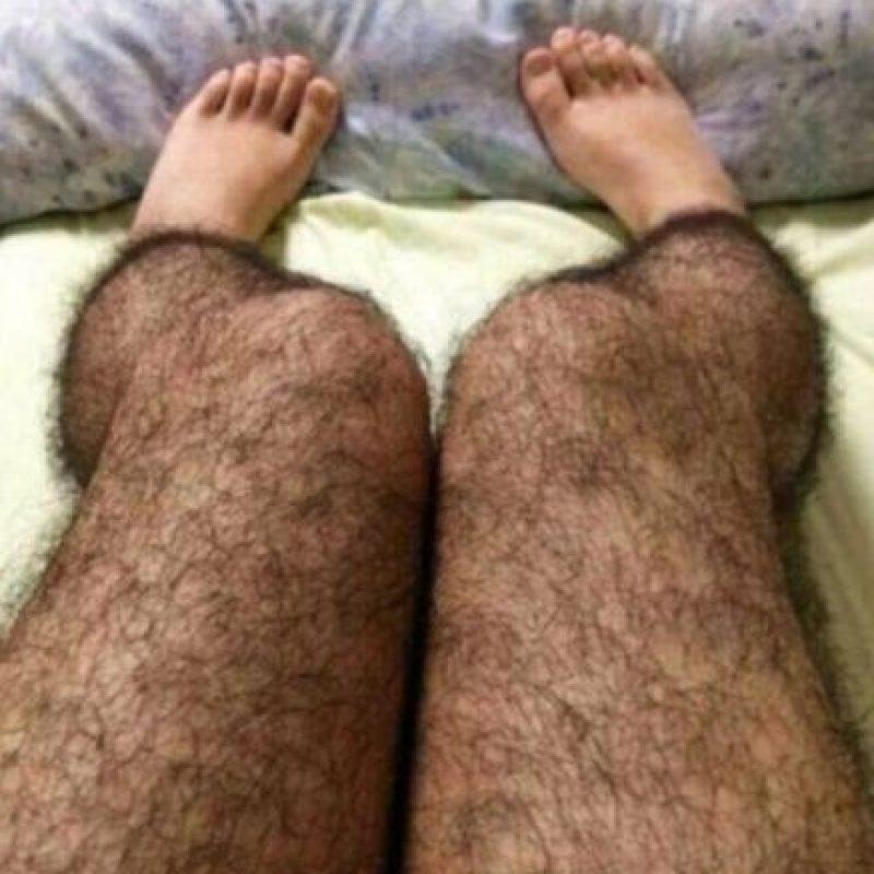 Medias peludas para que nadie las toque: el año pasado se popularizaron a través de la red social china Sina Weibo unos leggings que recreaban las piernas velludas de un hombre. Aptos para metros, o buses llenos. Foto:Weibo