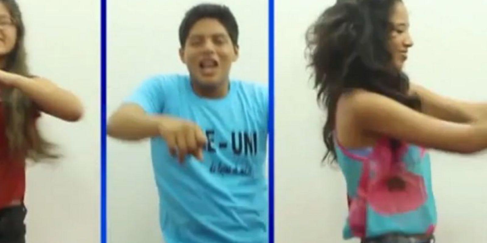 Los estudiantes también se pusieron a bailar. ¿Cuál de las dos parodias les gusta más? Foto:Youtube