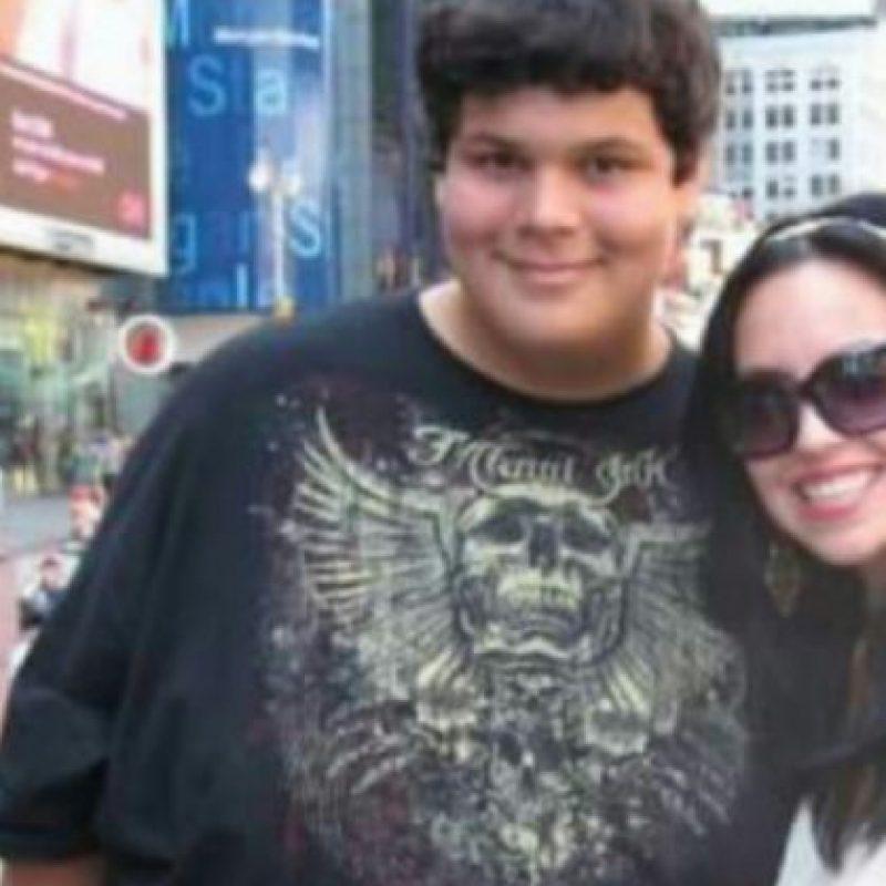 Matt Diaz era obeso cuando adolescente. Foto:Tumblr