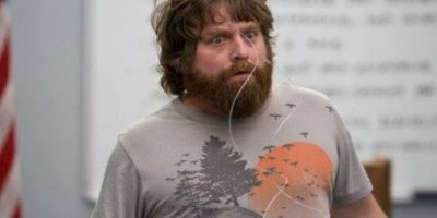 "En 2009, Zach Galifianakis saltó a la fama con la cinta ""The Hangover"" Foto: Facebook/The Hangover"