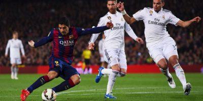 FOTOS: Así celebró Luis Suárez el gol del triunfo ante el Real Madrid