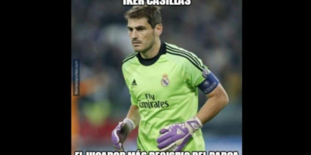 Los memes se burlan de Iker Casillas en el Barcelona vs. Real Madrid