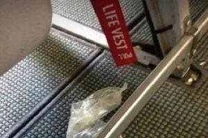 ¿Notan algo extraño en esta imagen? Alguien decidió dejar un preservativo Foto:Notinerd