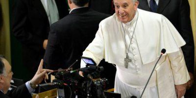 """2. """"¿Quién soy yo para juzgar a los gays?"""". Esto comentó en julio de 2013, marcando las bases de una posible nueva postura de la Iglesia Católica sobre la homosexualidad. Foto:AFP"""