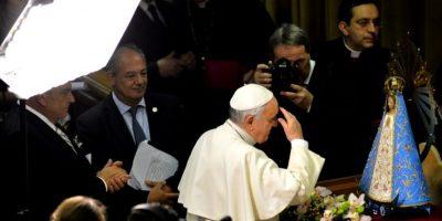 """1. """"La teoría del Big Bang no contradice a Dios"""". Franciso aseguró que """"Dios no es un mago, pero si es el Creador de todo"""". Foto:AFP"""