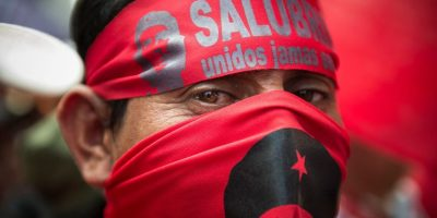 Salubristas que han estado en manifestación no serán recontratados