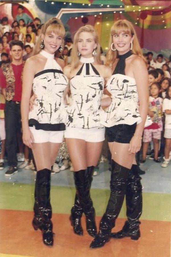 Lily Brown, Xiomara Xibille y Almendra Gomelsky Foto:Facebook/Nubeluz