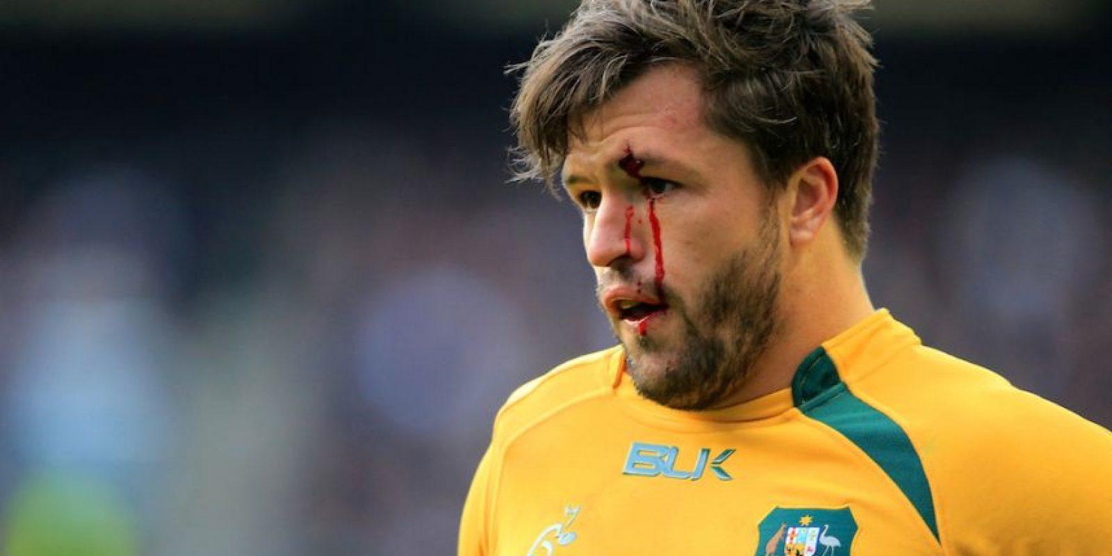 Adam Ashley-Cooper de Australia ante Inglaterra en la QBE International. Foto:Getty Images