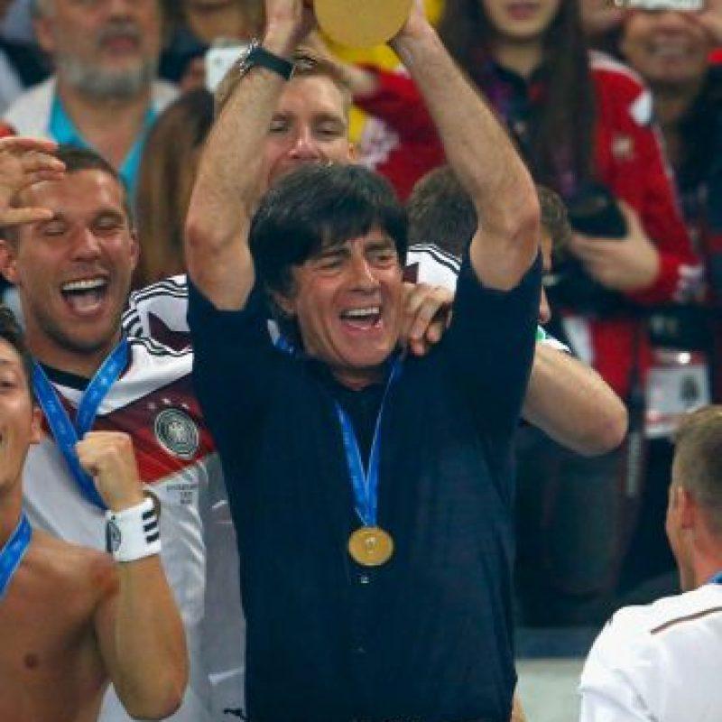 Y en Brasil 2014 logró hacer campeón del mundo a Alemania tras 24 años de sequía Foto:Getty Images