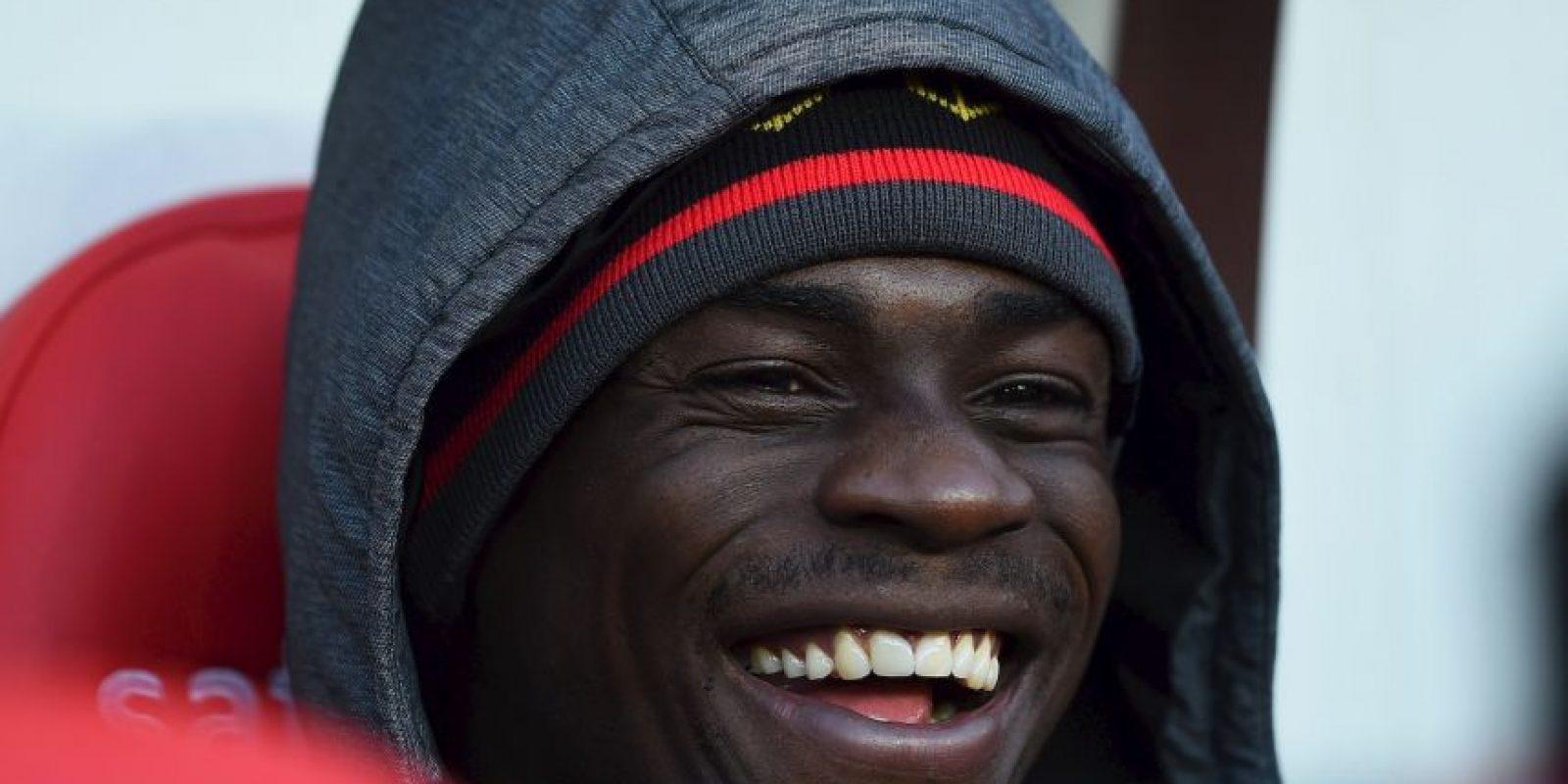 Mario Balotelli, delantero del Liverpool, ha sido un futbolista lleno de polémicas a lo largo de su carrera. Foto:Getty Images