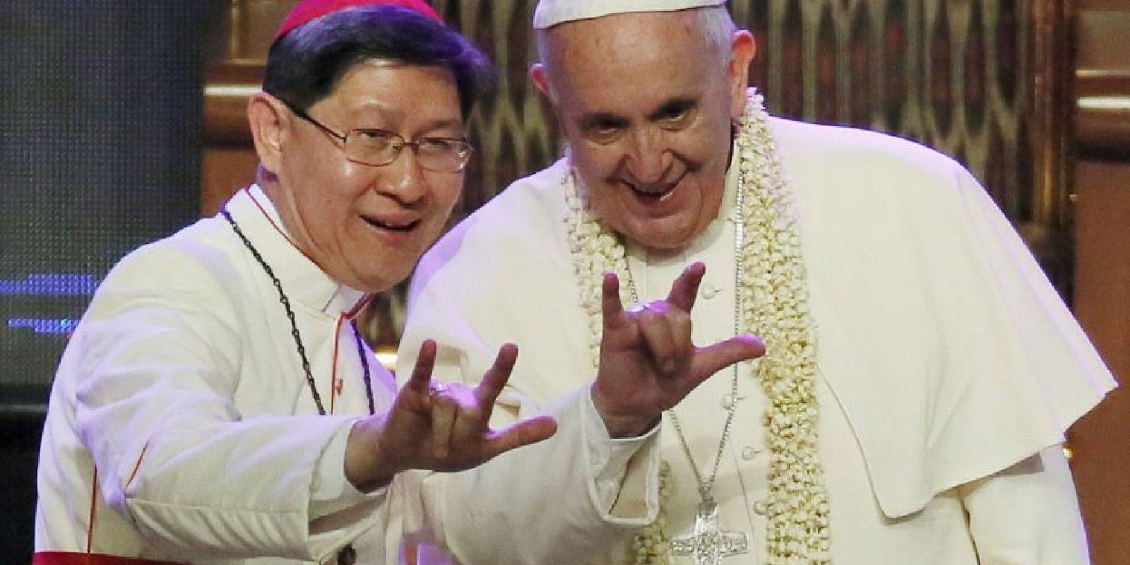 """5. """"Yo no quise ser Papa"""", reconoció al ser cuestionado sobre si había aspirado al puesto actual. Foto:AP"""