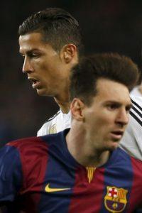 Lionel Messi compartió una foto en el vestidor junto con Luis Suárez y Neymar Foto:AP