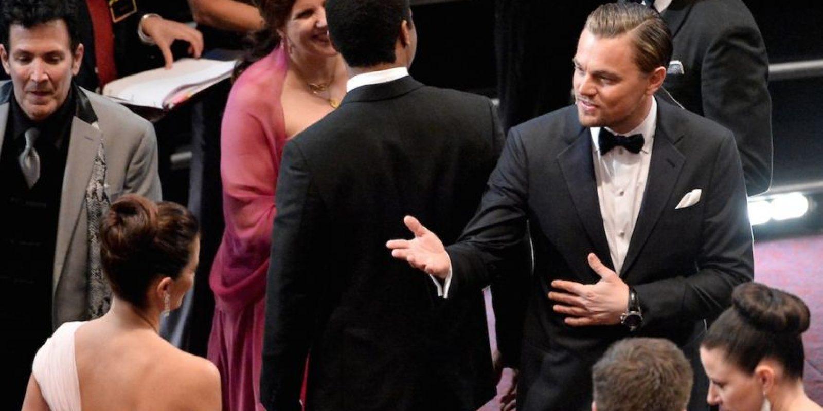 """En una entrevista con el diario """"The Guardian"""", la actriz Virgine Leydoyen reconoció que los besos de DiCaprio no dejan recuerdo alguno. Foto:Getty Images"""