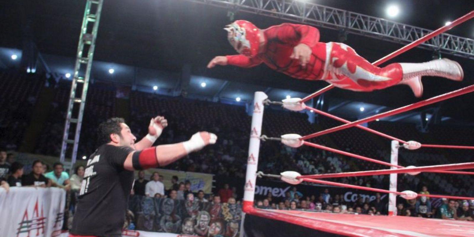 La última coincidencia fue el deceso del Hijo del Perro Aguayo Foto:Lucha Libre AAA