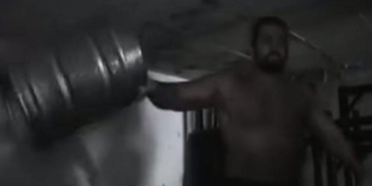 Poderoso: Así es el entrenamiento del rival de John Cena para Wrestlemania XXXI