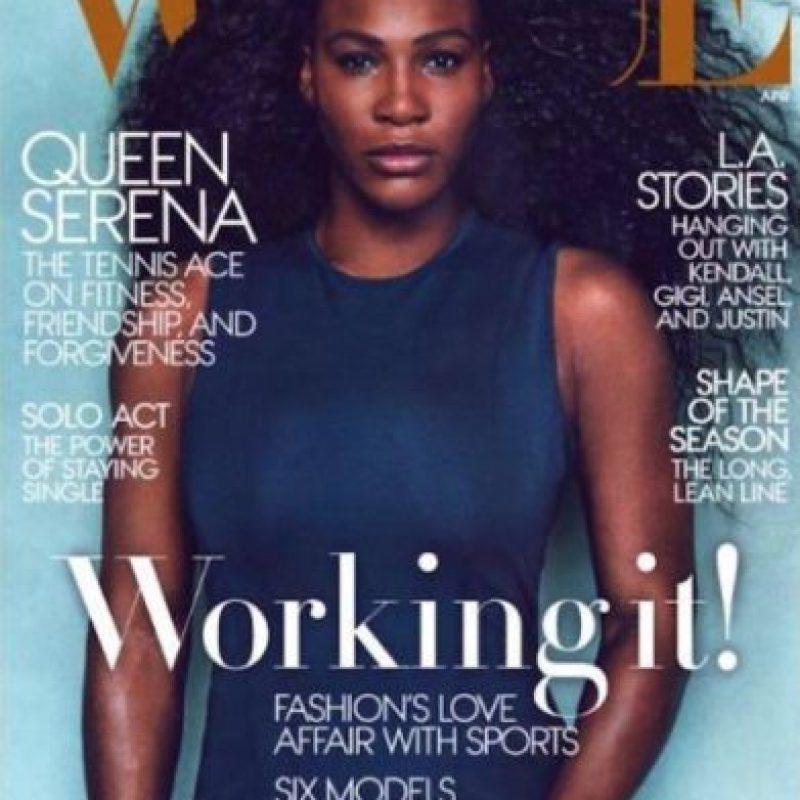 """Williams reveló todos sus secretos en el número de abril de """"Vogue"""". Foto:Vogue"""