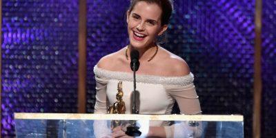 Según lo indicó Daniel Radcliffe en el pasado, la actriz tiene una forma muy salvaje a la hora de besar Foto:Getty Images