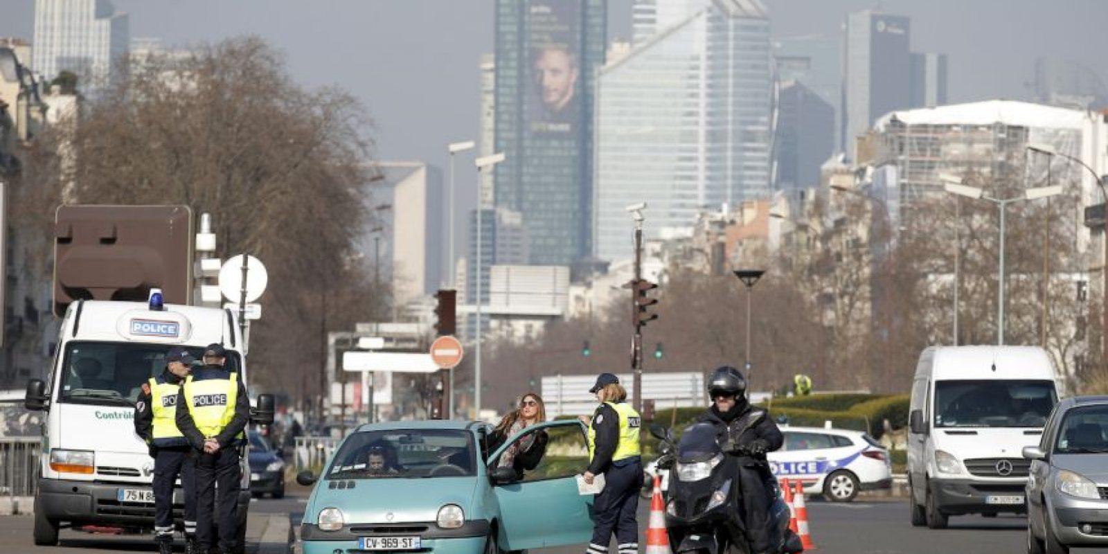 Las restricciones de tráfico entraron en vigor a las 05:30 hora local Foto:AP
