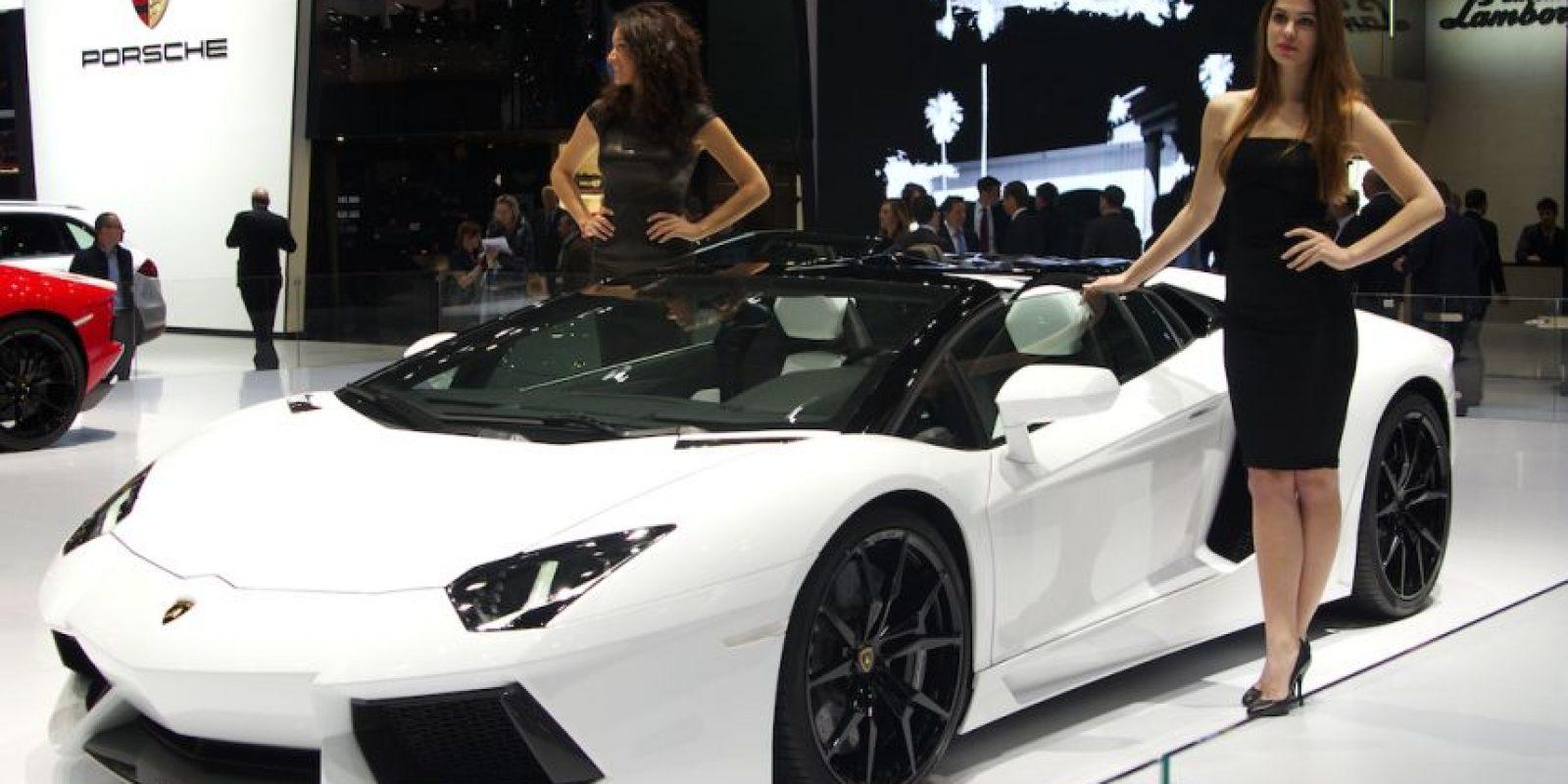 Este es el Lamborghini Aventador Foto:Wikimedia