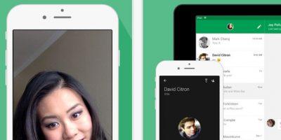 Hangouts también ya cuenta con esta opción de llamadas gratuitas. Foto:Google Paly