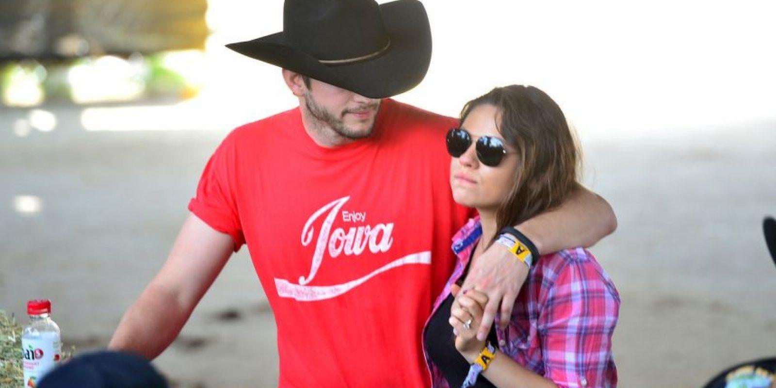 La unión entre estos dos actores lo confirman las declaraciones de ella durante un programa de televisión y el anillo de diamantes que luce en su mano. Foto:Getty