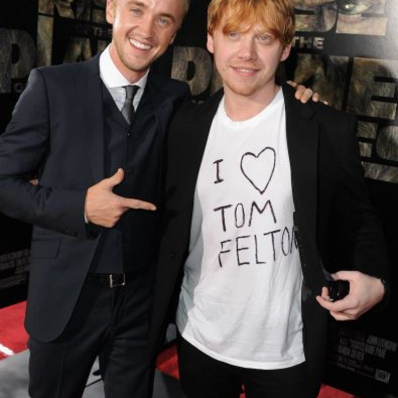 "Rupert contará más de la historia en el documental ""Tom Felton meets the superfans"" Foto: Getty"