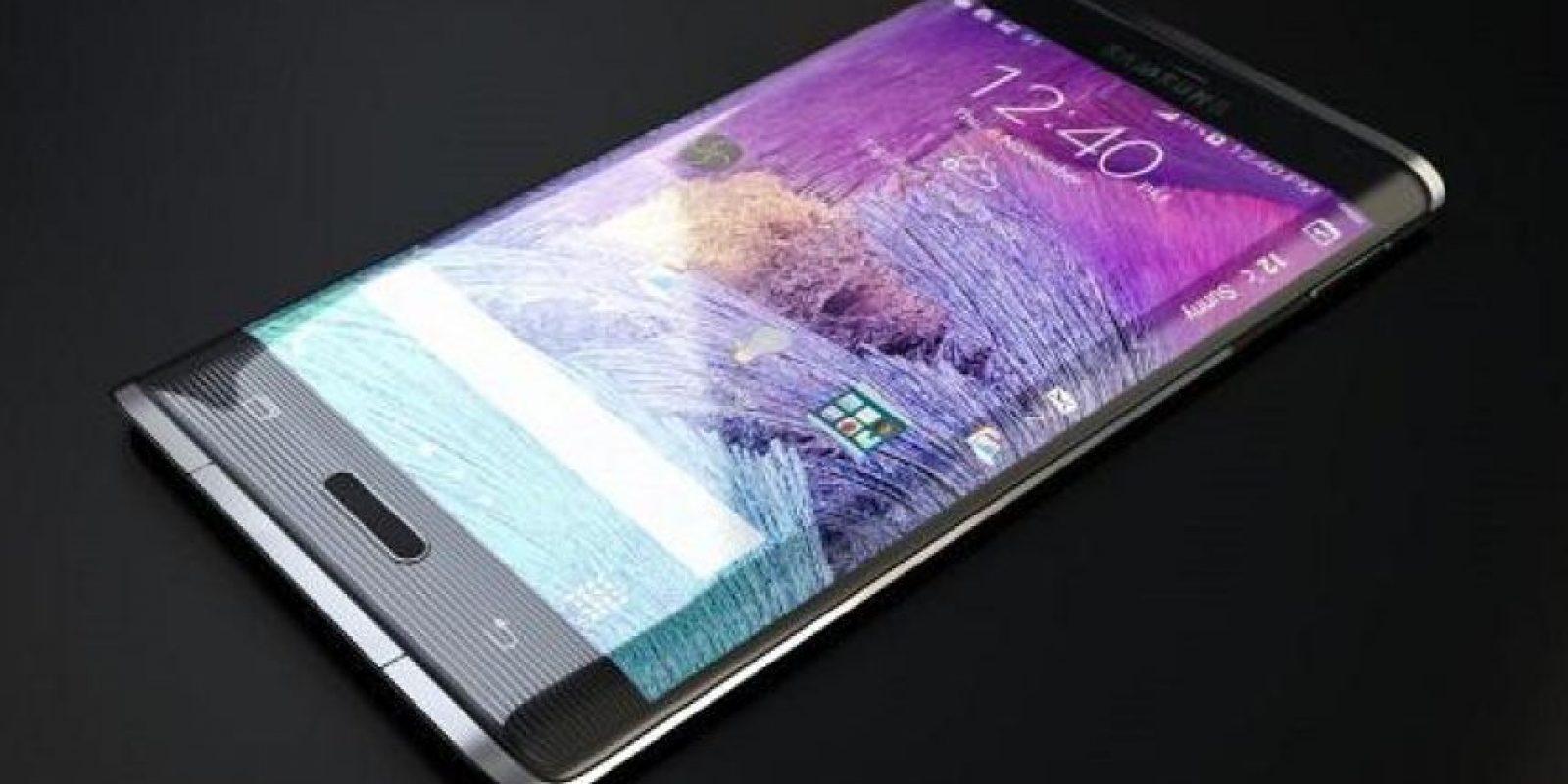 Otra novedad en el teléfono es la redondez de los bordes, que tendrá una función de barra de herramientas. Foto:Twitter @SamsungMobile