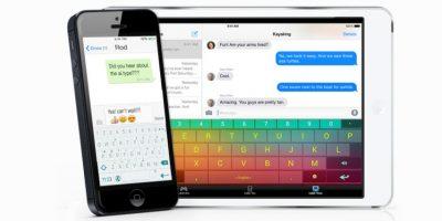 ai.type es uno de los más coloridos teclados para iOS. Foto:ai.type Ltd