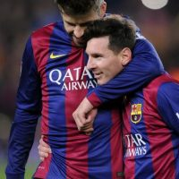 Del Barcelona, Lionel Messi fue el más seguido Foto:AP