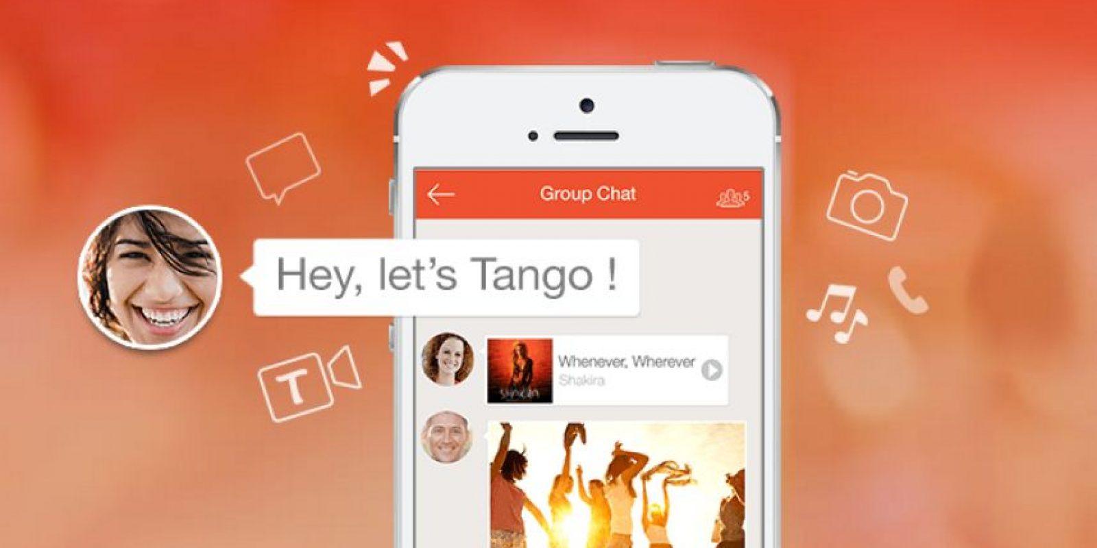 Tango es una opción no muy conocida, pero muy funcional. Foto:tango.me
