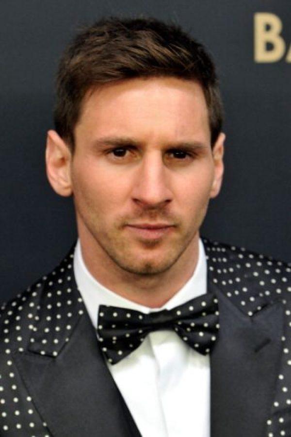 Estos son algunos de los looks 'extravagantes' de Lionel Messi Foto:Getty Images