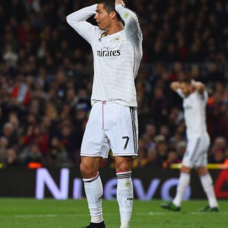 En noviembre de 2011, Cristiano y Marcelo celebraron un gol ante el Málaga bailando la canción que entonces era un hit mundial, 'Ai si eu te pego' y que había popularizado Neymar meses antes. Foto:Getty Images