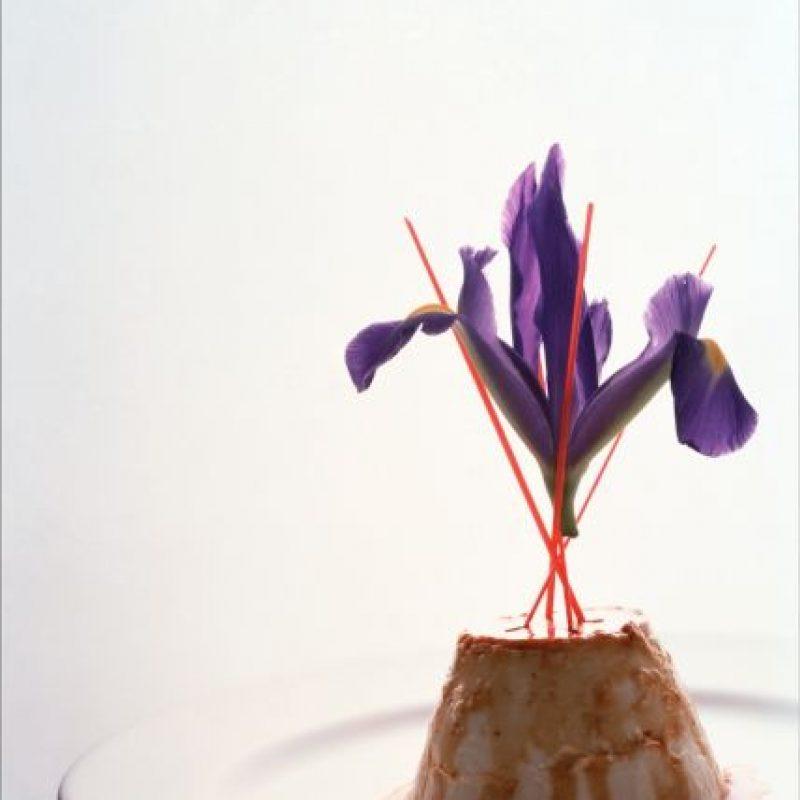 Flan de leche de coco con piña tropical a las especias Foto:Martha Ortiz