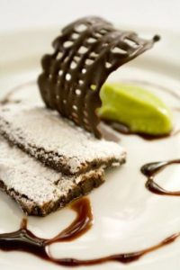 2. No retratar el plato en la forma como se presentará al final Foto:José Luis Ruiz