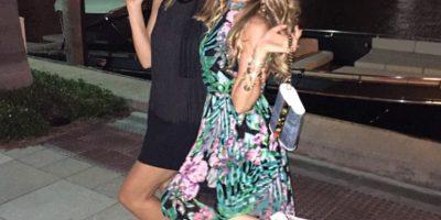 Thalía se lleva de maravilla con la señora Hilfiger Foto:Vía instagram @Thalia